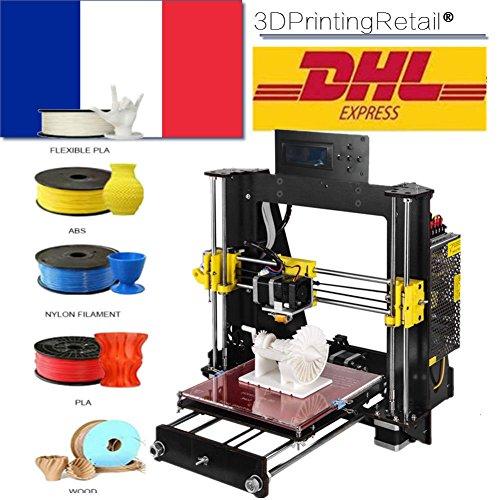 CTC Stampanti 3D Prusa I3 Pro B Classic 3D stampante DIY con kit smontato, kit fai-da-te CNC di alta qualità, dimensioni di stampa 200x200x180mm