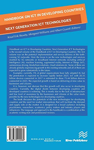 Handbook on ICT in Developing Countries: Next Generation ICT Technologies (River Publishers Series in Communications)