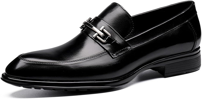 Herren Lederschuhe Herren Kleid Schuhe wies britischen Stil Business Business Business Anzug Hochzeit einzelne Schuhe Herrenschuhe (Farbe : Schwarz, größe : EU43/UK8) B07915VKGN 290a1e