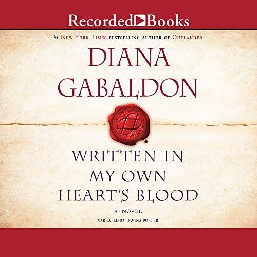 Written In My Own Heart s Blood Outlander Gabaldon 8 product image
