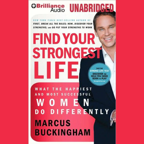Find Your Strongest Life audiobook cover art