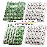 harren24 200 Tabletten zur chemischen Wasseranalyse von pH-Wert und freiem Chlor (DPD1) Rapid (2X 100 Tabletten)