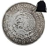 SeTing Moneda Conmemorativa México 1959 - Moneda Vieja de México - Moneda Gran México - MX Brillante Sin Circular Histórico Eagle Monedas - Deeply miss motherland Servicio Permanente