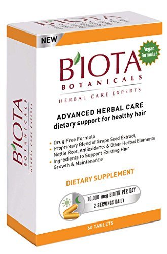BIOTA Advanced Herbal Care Dietary Support for healthy hair (60 tablets)