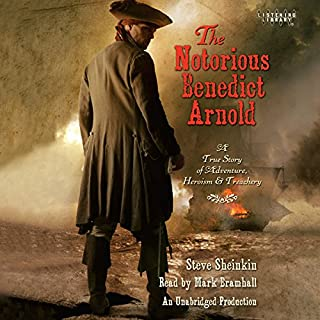 The Notorious Benedict Arnold audiobook cover art