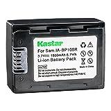 Kastar IA-BP105R Battery for Samsung HMX-F80, HMX-F90, HMX-F800, HMX-F900, SMX-F50, SMX-F53, SMX-F54, SMX-F500, SMX-F501, SMX-F530, SMX-F70, SMX-F700, HMX-H300, HMX-H303, HMX-H304, HMX-H305, HMX-H320