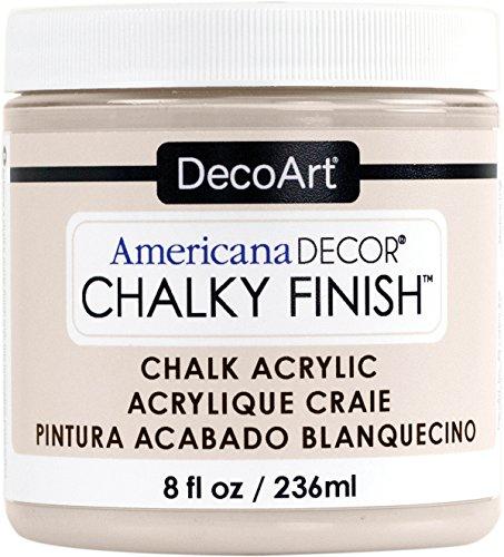 Deco Art Americana Chalky Finish Paint 8oz, Primitive, 8 oz, Gray