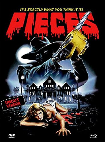 Pieces - Uncut/Remastered/Mediabook (+ DVD) [Blu-ray] [Limited Edition]