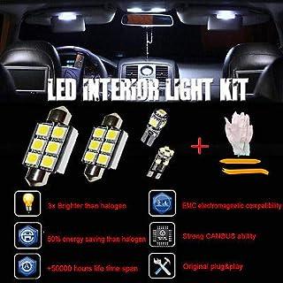 FidgetFidget Error Free White 13 SMD LED Interior Lights SEAT Leon Mk2 FR 1P1 1P Cupra