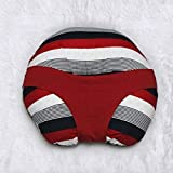Kradyl Kroft 5in1 Baby Feeding Pillow with Detachable Cover (Color-Red, Panache,)