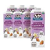 Mooala – Organic Vanilla Bean Almondmilk, Unsweetened, 1L (Pack of 6) – Shelf-Stable, Non-Dairy,...