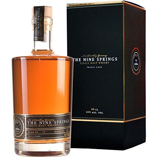 The Nine Springs Triple Cask 3 Jahre Single Malt Whisky 0.5 l