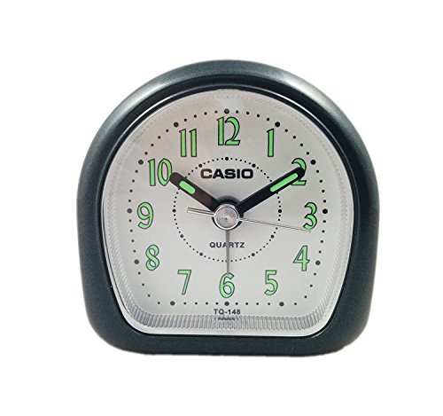 Casio TQ148-1 Tq148 Travel Alarm Clock with Neo Display