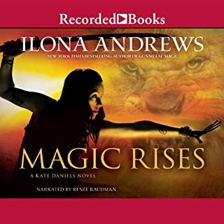 Magic Rises audiobook cover art
