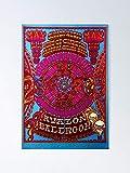 AZSTEEL Santana Gig Poster Poster