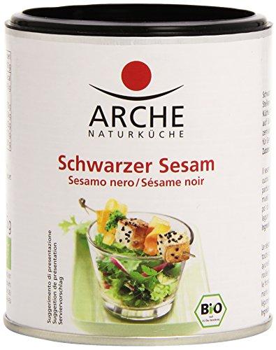 Arche - Graines de Sésame Noir Bio - Boîte de 125 g
