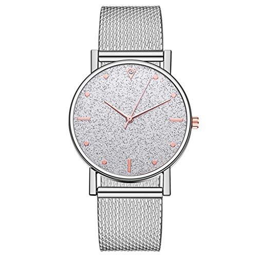 Fenverk Unisex Armbanduhr Damen-Uhr Herren-Uhr, Analog Display, Quarzwerk, Kunst-Leder-Armband, Chronograph-Optik(J#02)