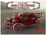 ICM 24004–Maqueta de Model T 1914Fire Truck American Car