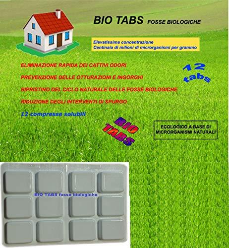 BIO TABS fosse biologiche attivatore biologico in compresse idrosolubili