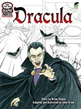 Color Your Own Graphic Novel DRACULA (Dover Classic Stories Coloring Book)
