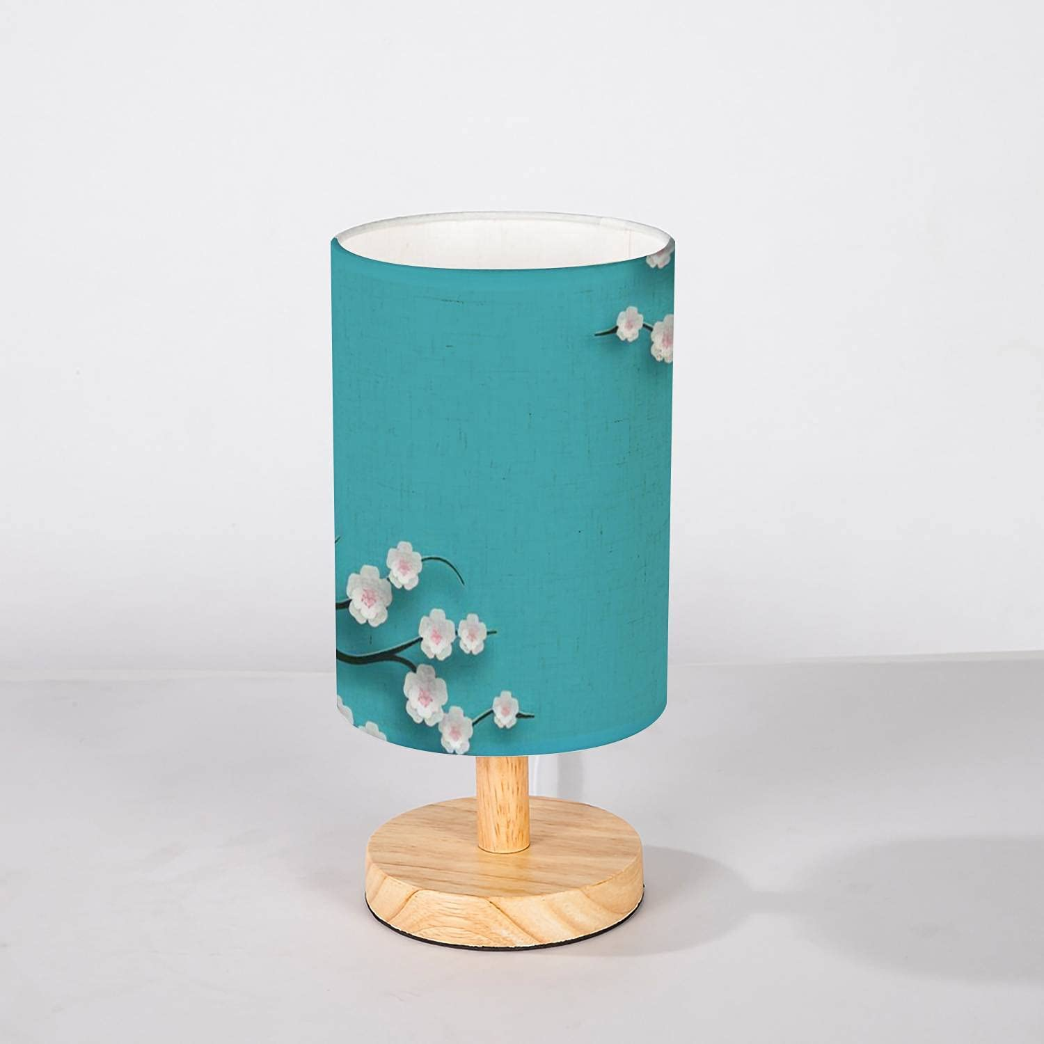 Minimalist Bedside Table Lamp Floral Decorated Oklahoma City Mall Bloomi Background Year-end annual account