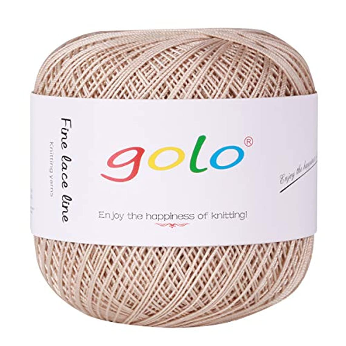 Crochet Thread Yarns for Begingers Size6-100% Contton Yarn for Knitting Crochet DIY Hardanger Cross Sitch Crochet Thread Balls Rainbow Turquoise 39 Colors Avilable (Coffee Color)