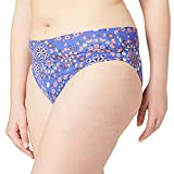 Desigual Biki_Bahamas B Parte Inferior de Bikini, Azul, XL para Mujer