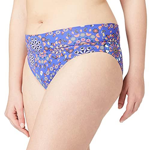 Desigual Womens Biki_Bahamas B Bikini Bottoms, Blue, XL