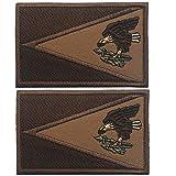 Guam Guamanian Gebiet der Vereinigten Staaten national, amerikanischer Samoa, Ibizo-Flagge, bestickter Patch, taktische Militär Morale Emblem Patches Applikation Abzeichen Mud Samoa