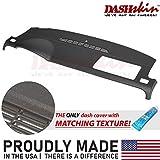 DashSkin Molded Dash Cover Compatible with 07-14 GM SUVs w/o Dash Speaker in Ebony (USA Made)