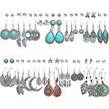 12 Pairs Drop Dangle Earrings for Women Boho...