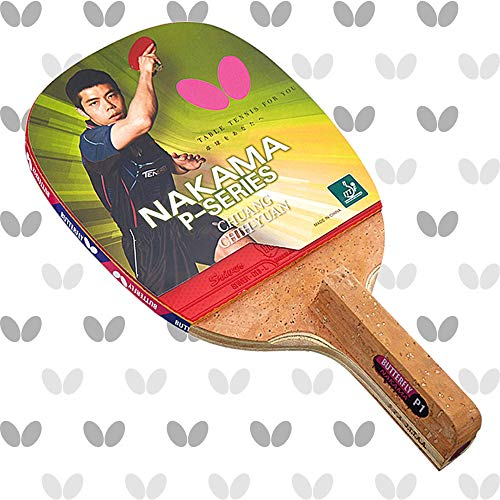 Butterfly Nakama P6 Japanese Penhold Table Tennis Racket | Nakama