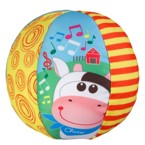 Chicco Ball Big & Small Pelota Musical, Multicolor, 6-12 Meses (00005836000000)
