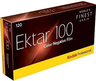 Kodak Professional Ektar Color Negative Film ISO 100, 120 Size, Propack of 5,USA Pack-2