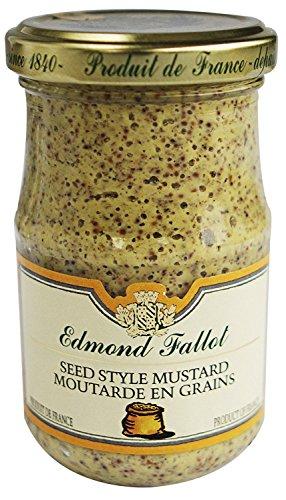 Edmond Fallot Old Fashioned Grain Dijon Mustard - 7.2 oz