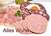 Alles Wurst (Wandkalender 2022 DIN A4 quer): Wurstwaren (Monatskalender, 14 Seiten )