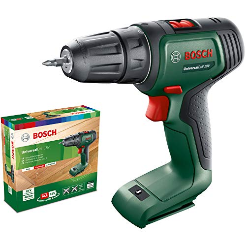 Bosch Home and Garden 06039D4000 Bosch Cordless Drill UniversalDrill 18 (without battery, 18 Volt system, in cardboard box)