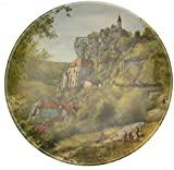 Limoges Porcelain Troupeau De Moutons En Auvergne Michel Julien Plate