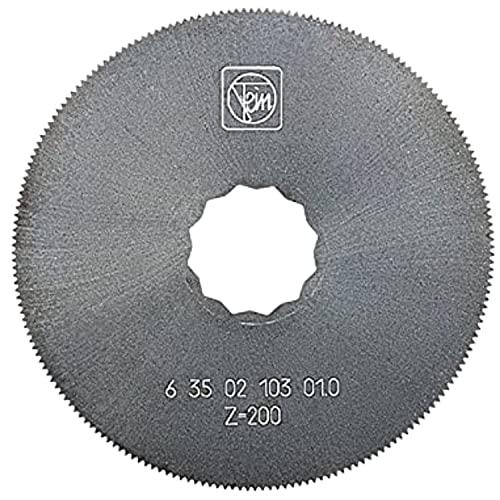 Fein HSS Circular Saw Blade with Fine Teeth for Universal use on Sheet Metal - Diameter 2-15/32
