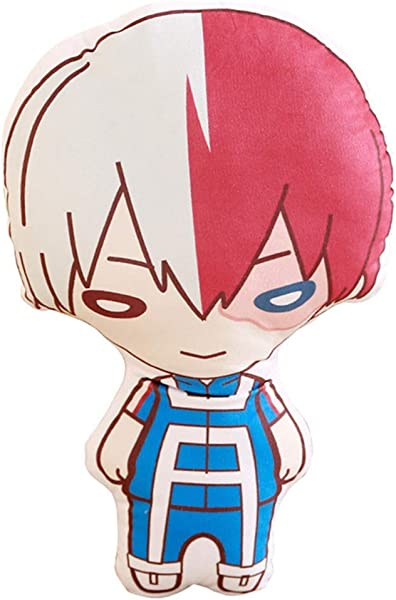 WerNerk Anime Boku No Hero My Hero Academia Todoroki Shoto Bakugou Katsuki Izuku Midoriya Deku Ochaco Uraraka Plush Doll Toy Pillow Cushion Todoroki Shoto