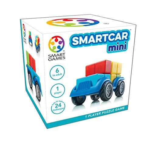 smart games- SmartCar Mini, Color Azul (Ludilo SG501)