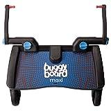 Lascal 2540 Buggyboard Pedana Maxi  Con Sedile Universale Per Passeggino e Carrozzina , Blu