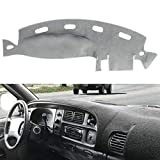 Dash Cover Dashboard Cover Mat Pad for Dodge Ram 1998 1999 2000 2001 (Gray) Y21