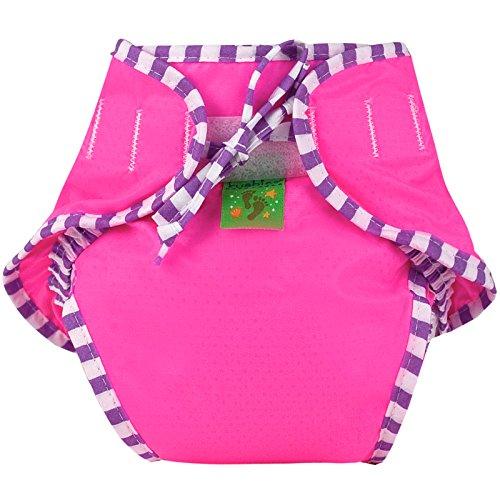 Kushies Reusable Swim Nappy (Small, Pink)