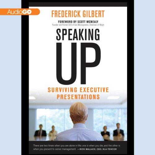 Speaking Up     Surviving Executive Presentations              Di:                                                                                                                                 Frederick Gilbert                               Letto da:                                                                                                                                 Richard Waterhouse                      Durata:  5 ore e 9 min     Non sono ancora presenti recensioni clienti     Totali 0,0