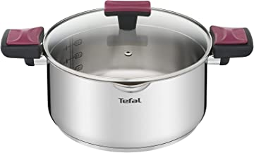 Tefal G72346 Cook & Clip Stewpot with Lid, 24cm