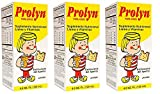 Prolyn for Kids Dietary Supplement Syrup 4 Oz (3PCS)