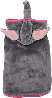 Balacoo Dog Elephant Costume Clothes Halloween Dog Dress Up Halloween Animal Cosplay for Small Pet