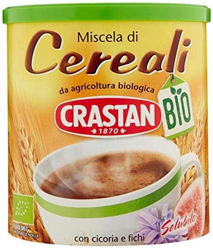 Crastan Solubile - Bevanda di Cereali Biologica - 125 gr