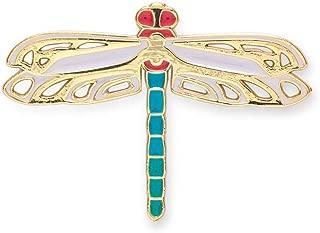 Elegant Enamel Novelty Dragonfly Pin for Lapel